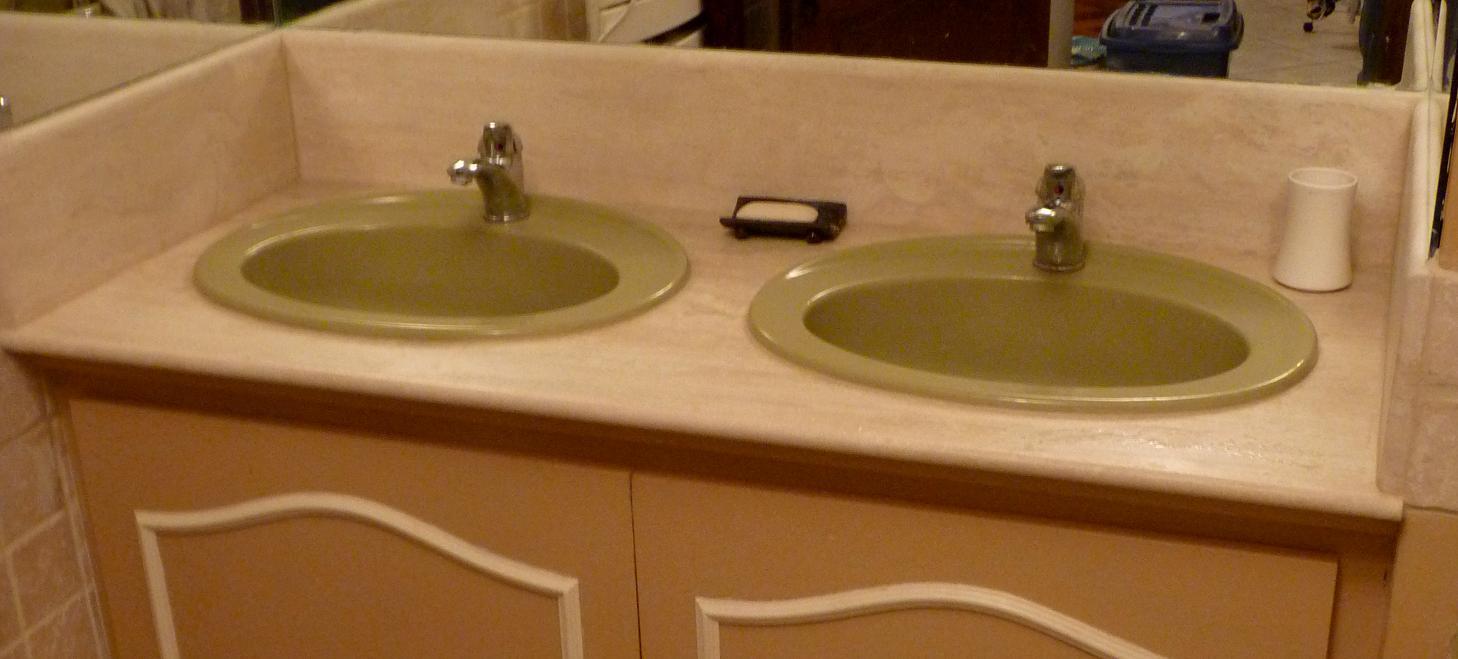Cuisine salle de bain for Plan de travail pour salle de bain